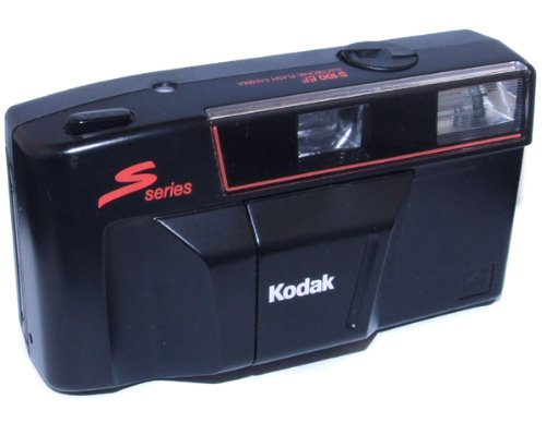 For Parts - Kodak S100 EF Point & Shoot 35mm Film Camera with Estate Film Inside