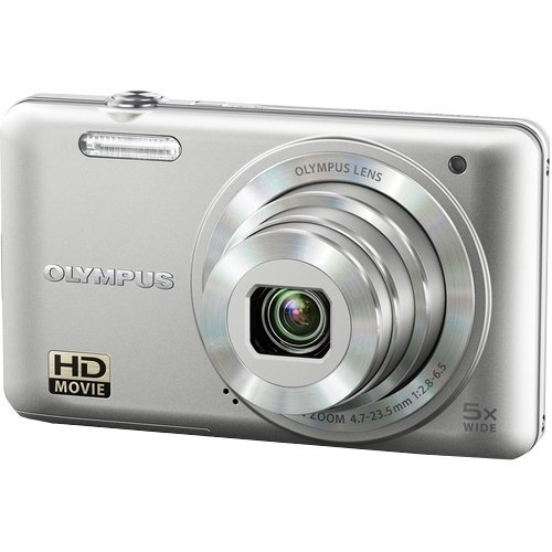Olympus VG-160 14MP Digital Camera with 5x Optical Zoom (Silver)